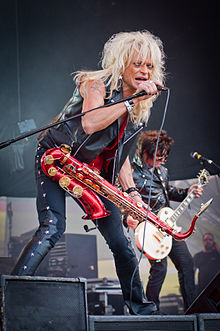 Michael Monroe at the 2011 Ilosaarirock festival