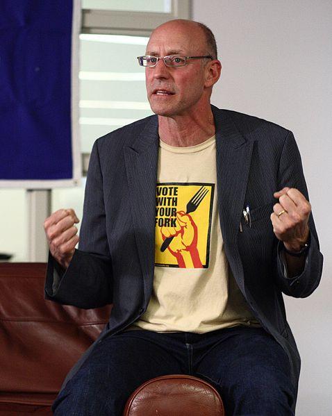 Michael Pollan: forfatter av boken omnivores dilemma