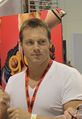 Michael Shanks tijdens Comic Con 2009.