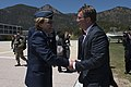 Michelle Johnson and Ashton Carter 160512-D-DT527-201 (26979511505).jpg