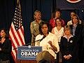 Michelle Obama at the University of New Mexico on September 4, 2008.jpg