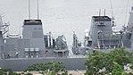 Midship of JS Fuyuzuki(DD-118) right side top view at JMSDF Maizuru Naval Base July 29, 2017 01.jpg
