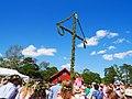 Midsommar Pole - Maypole in Sweden.jpg