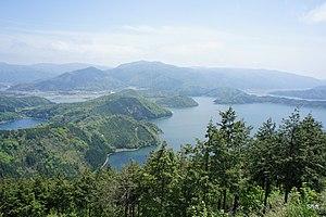 Mihama, Fukui - Image: Mikata five lakes 20110505 panoramio