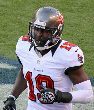 Mike Williams (wide receiver, born 1987) - Williams with the Tampa Bay Buccaneers in 2012