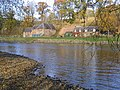 Mill and cottages by the River Tweed - geograph.org.uk - 604782.jpg