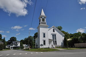 National Register of Historic Places listings in Piscataquis County, Maine - Image: Milo ME Historical Society Building