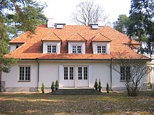 Milusin villa of marshal Józef Piłdsudski in Sulejówek.JPG