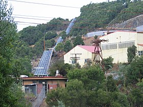 Mine Buildings Rosebery Tasmania.JPG