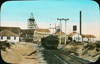 Glace Bay - Coal mine, Glace Bay, NS, 1930