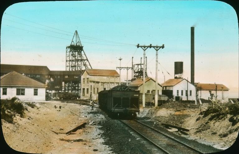Mine charbon Glace Bay 1930