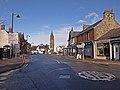 Mini-roundabout, Kilmaurs - geograph.org.uk - 1715058.jpg