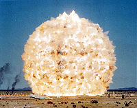 Minor Scale test explosion