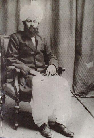 Mirza Basheer-ud-Din Mahmood Ahmad - Image: Mirza Mahmood Ahmad 1924