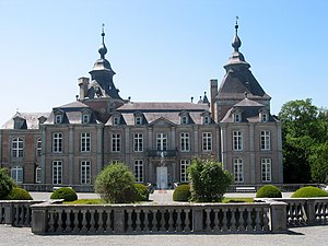 Château de Modave - Main frontage