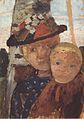 Modersohn-Becker - Brustbild eines Mädchens mit Blumenhut und Junge.jpeg