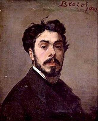 Modesto Brocos - Self-portrait (1882)