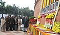 Mohd. Hamid Ansari, the Speaker, Lok Sabha, Smt. Meira Kumar, the Prime Minister, Dr. Manmohan Singh, the Leader of Opposition in Lok Sabha, Shri L.K. Advani, the Chairperson, UPA.jpg