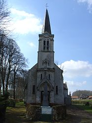 The church of Monchy-Cayeux