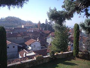 Moncrivello - Moncrivello seen from the castle.