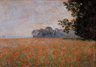 Strasbourg Museum of Modern and Contemporary Art - Image: Monet, Champ d'avoine aux coquelicots ( Musée d'art moderne et contemporain, Strasbourg )