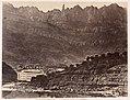 Monserrat, Vista general de la montaña desde Monistrol MET DP-387-011.jpg
