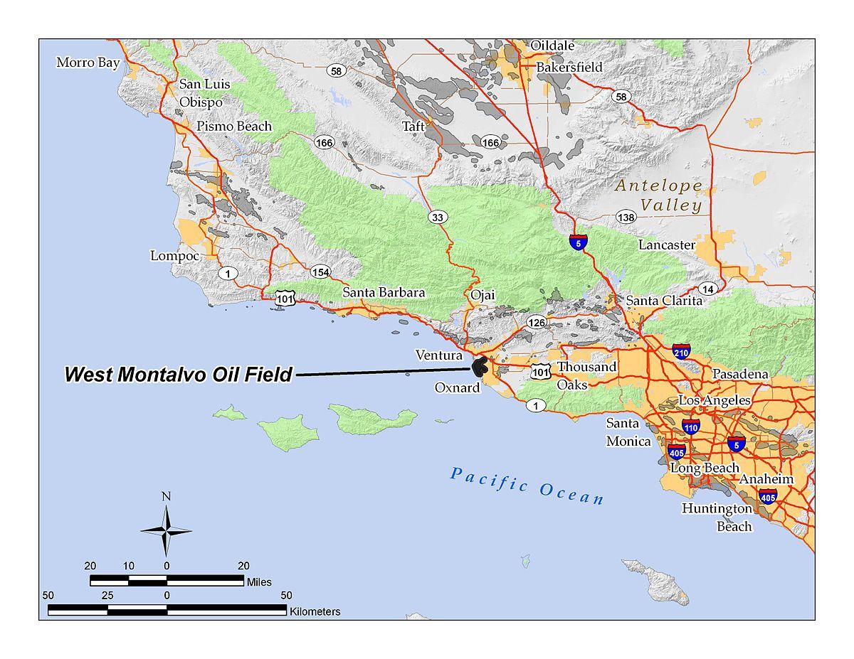 West Montalvo Oil Field Wikipedia