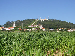 São Félix Hill - São Félix as seen from the countryside.