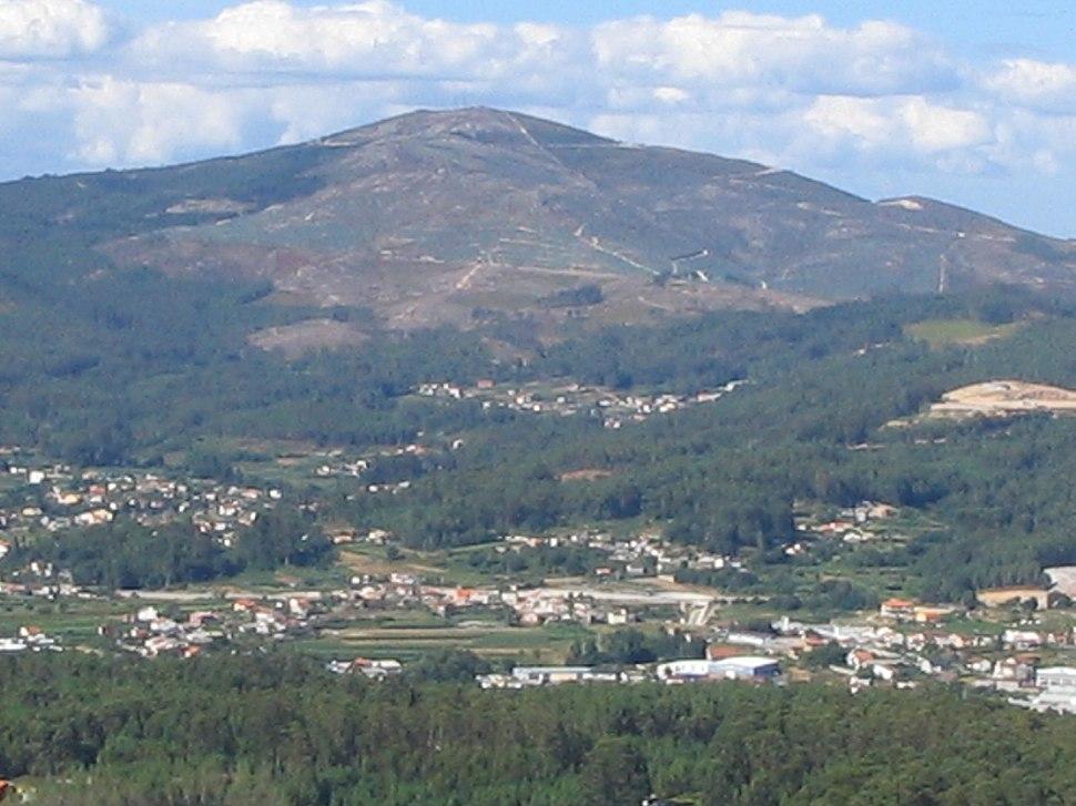 Monte Xiabre desde Lobeira