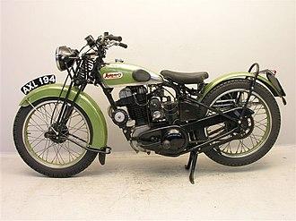 Montgomery Motorcycles - Image: Montgomery De Luxe 350 KK JAP 1934 links