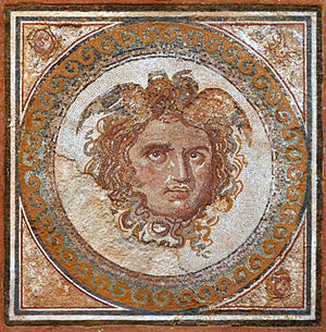 National Archaeological Museum of Tarragona - Image: Mosaic de la Medusa 2