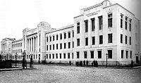 Moscow, Miusskaya Square, Shanyavsky University, 1913.jpg
