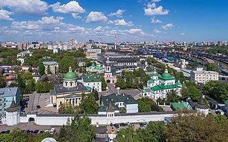 Danilov Monastery - Image: Moscow 05 2017 img 10 Danilov Monastery