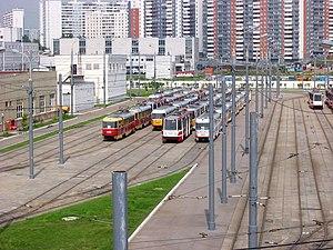 Mosgortrans - Krasnopresnenskoe tram depot