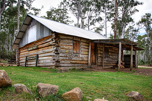 Wilderness hut - Moscow Villa in Victoria, Australia.