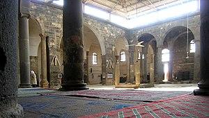 Al-Omari Mosque (Bosra) - Image: Mosque of umar, bosra, syria, easter 2004