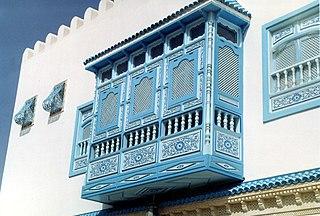 Mashrabiya Arabic architectural design element
