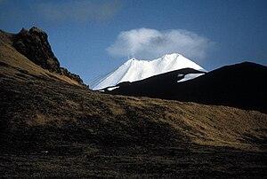 Amukta - Mount Amukta  on Amukta Island