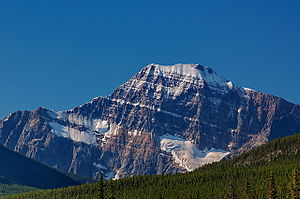 Nordwand des Mount Edith Cavell