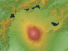 Mount Fuji & Fuji Five Lakes Relief Map, SRTM-1.jpg