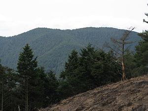 Mount Minami Katsuragi - Image: Mount Minami katsuragi 1