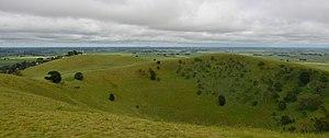 Mount Noorat - Mount Noorat crater