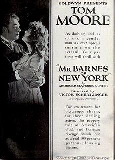 <i>Mr. Barnes of New York</i> (1922 film) 1922 film by Victor Schertzinger