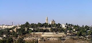 Mount Zion Hill in Jerusalem