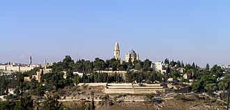 Mount Zion - Image: Mt Zion from Abu Tor