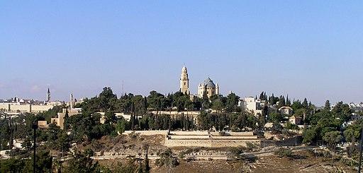 MtZion from Abu Tor