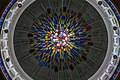 Multi-coloured patterned glass under the dome of Masjid Diraja Sultan Suleiman.jpg