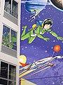 Mur BD Yoko Tsuno by Roger Leloup, Brussels.jpg