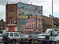 Mural on the back wall of the Hollywood East pub, Station Road, Penge. - geograph.org.uk - 59161.jpg