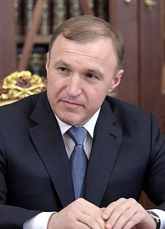 Head of the Republic of Adygea - Image: Murat Kumpilov (2017 01 12)